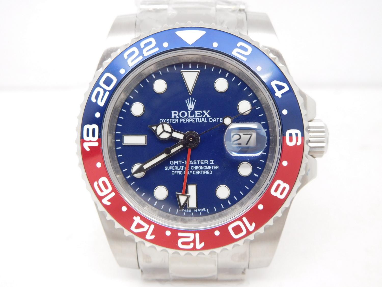 Replica Rolex GMT Master 116719BLRO Pepsi