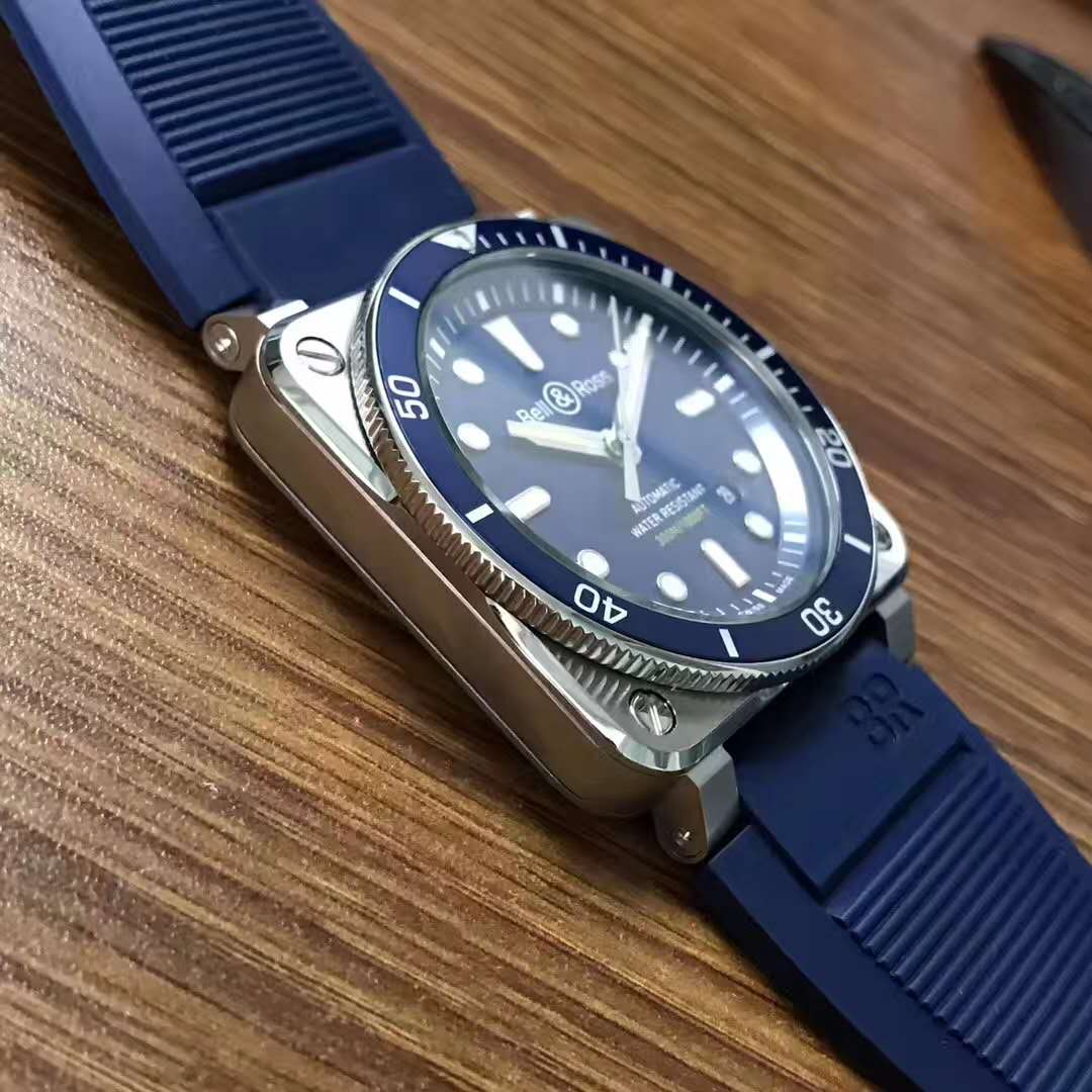 Replica Bell Ross BR03-92 Blue Bezel