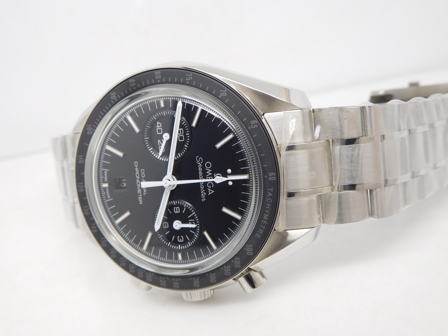 Replica Omega Moonwatch Black Ceramic Bezel