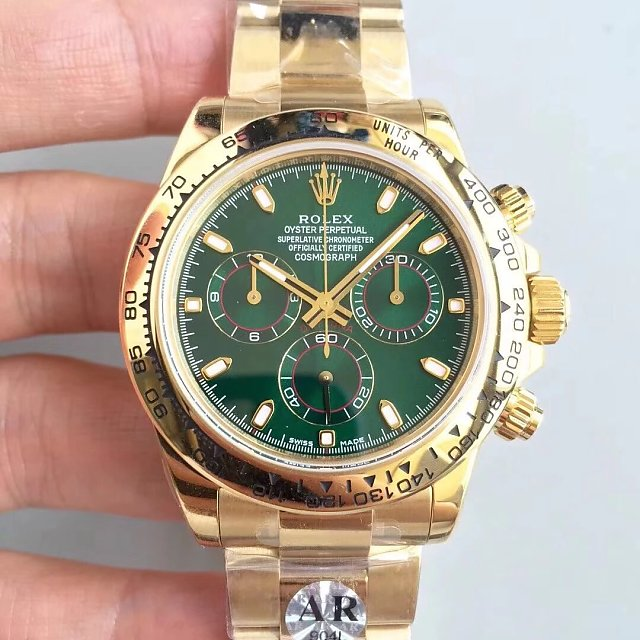 ARF Replica Rolex Daytona 116508LN Green