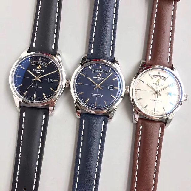 Breitling Transocean Day Date Collection