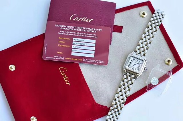 Cartier Panthere Watch with Card