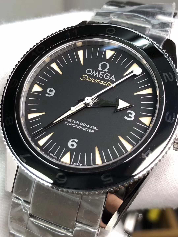 Omega Seamaster Spectre Black Ceramic Bezel
