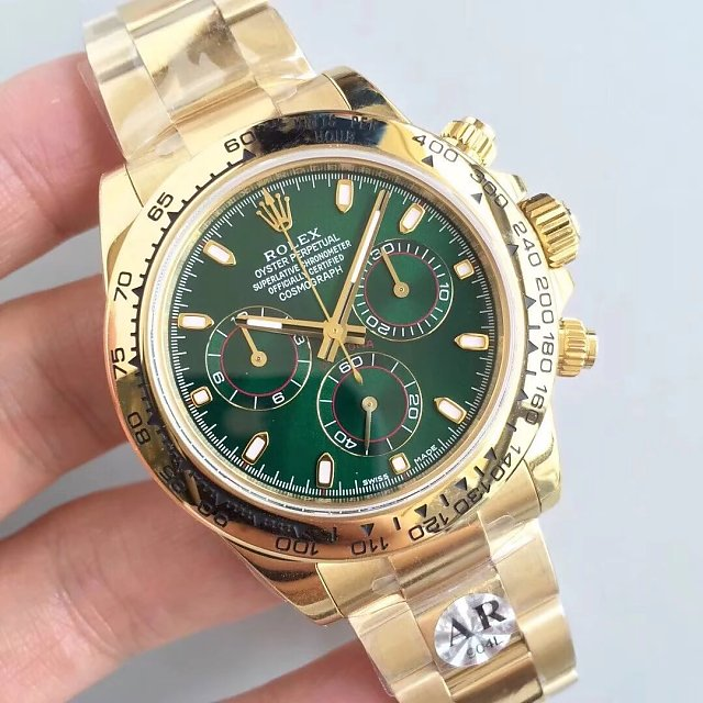 Replica Rolex Daytona Yellow Gold 116508LN