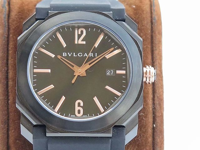 Replica Bvlgari DLC Black
