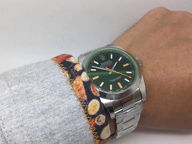 ARF Rolex Milgauss 116400GV Wrist Shot