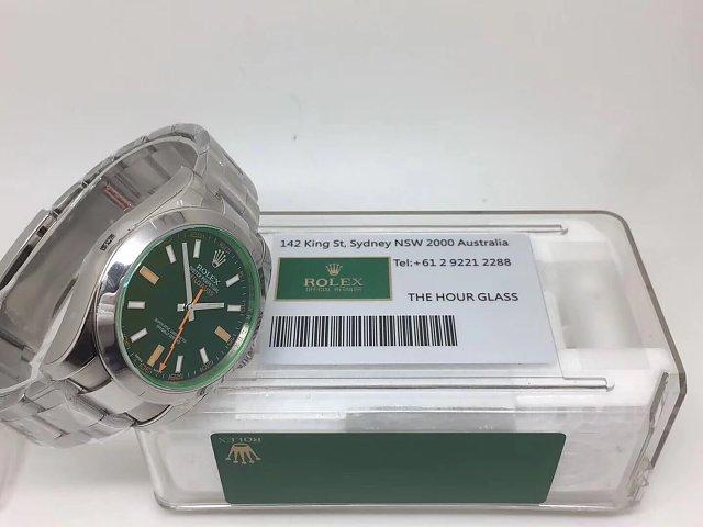 ARF Rolex Milgauss 116400GV with Box