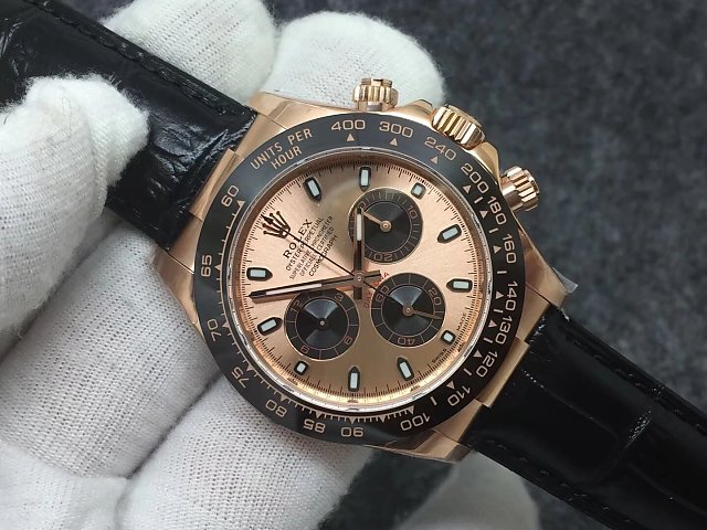 Noob Replica Rolex Daytona 116515 Rose Gold