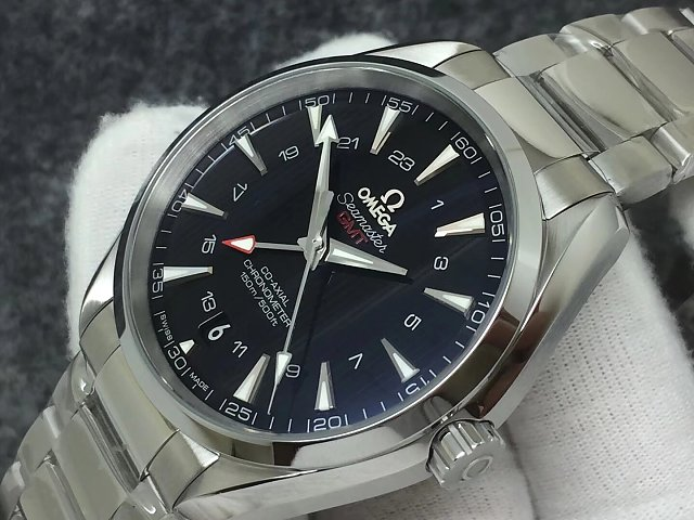 Replica Omega Aqua Terra GMT Watch