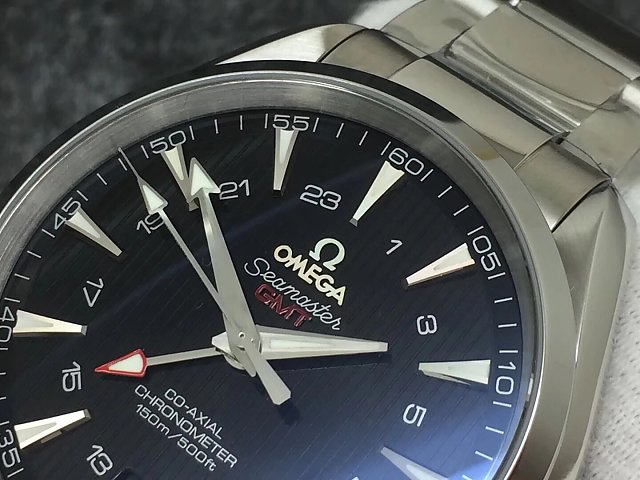 Replica Omega Aqua Terra Red GMT