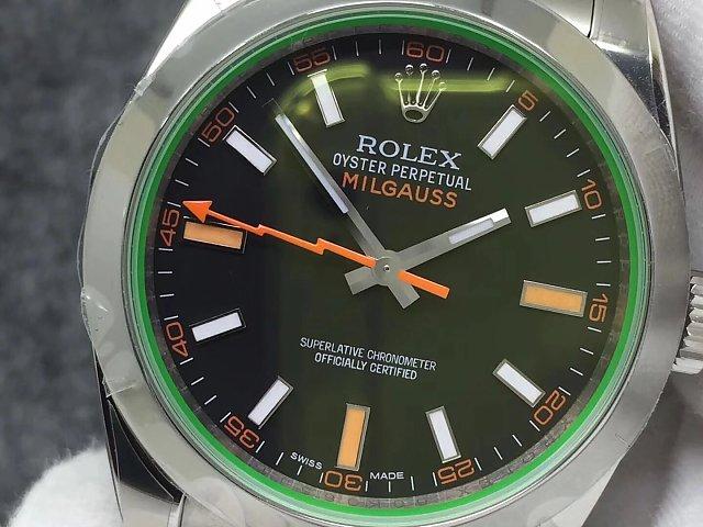 Rolex 116400GV Black Dial