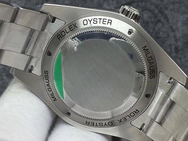 Rolex Milgauss 116400GV Case Back