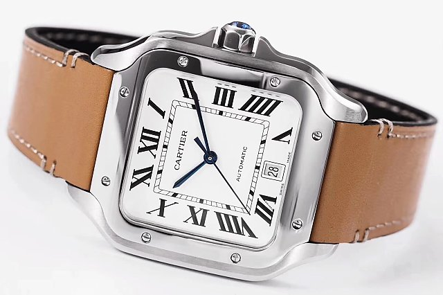 Cartier Santos 100 Steel Watch