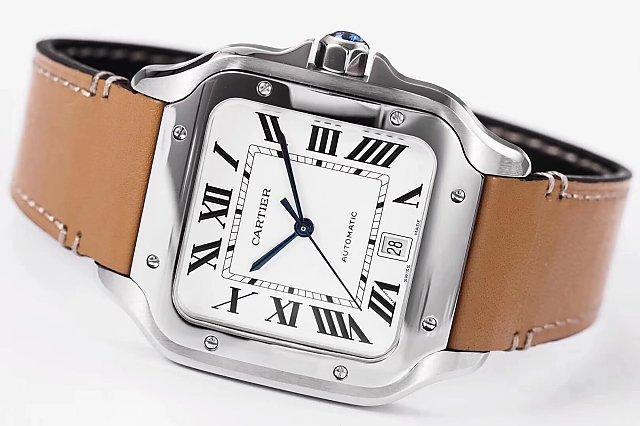 Cartier Santos 100 Steel Watch