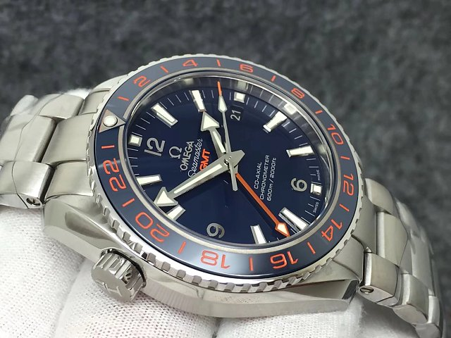 Replica Omega Planet Ocean Blue Ceramic Bezel