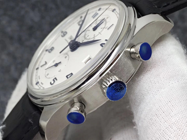IWC Portuguese IW390404 Chronograph Buttons