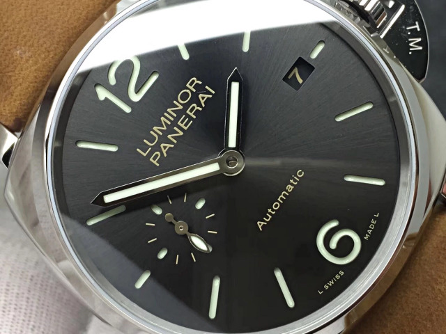 Luminor Panerai Grey Dial
