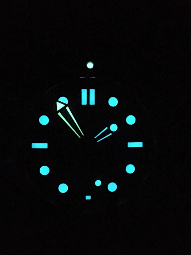 Omega Diver Grey Dial Lume