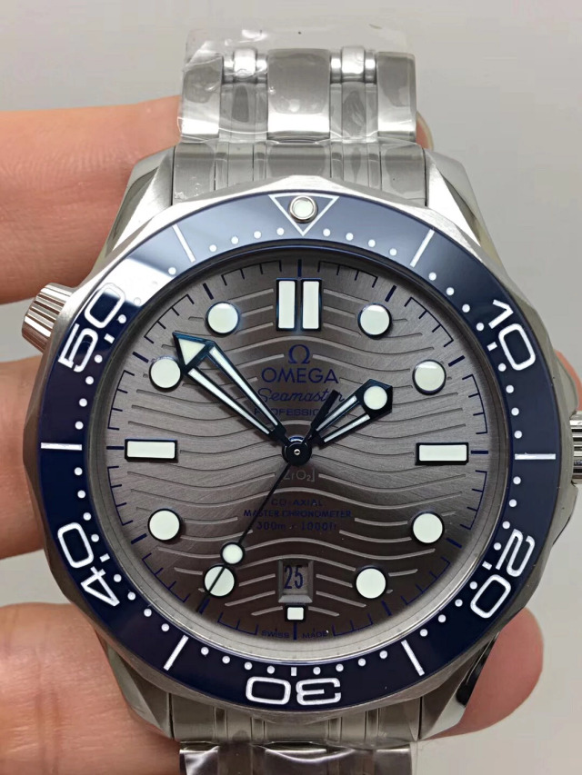 Replica Omega Seamaster Grey Dial