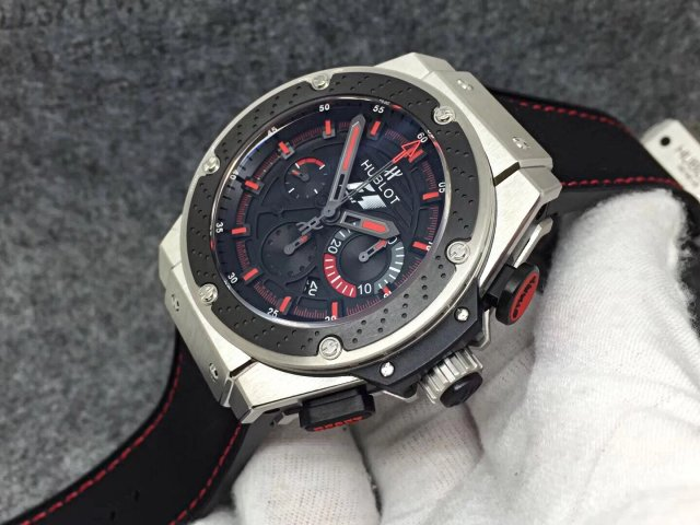 Hublot King Power F1 Black Ceramic