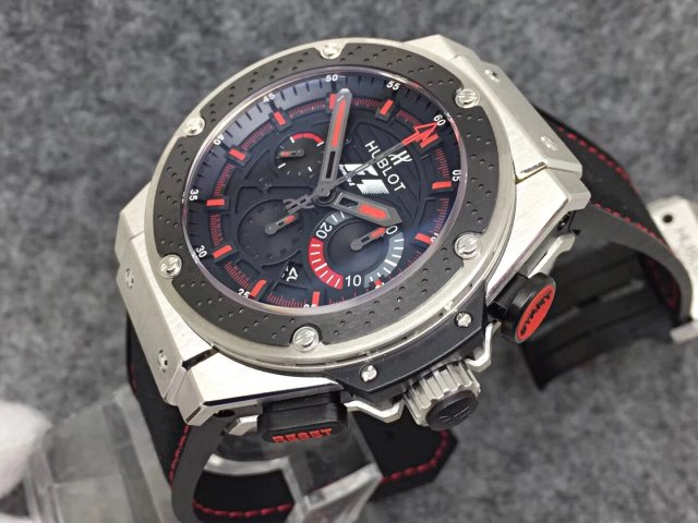 Hublot King Power F1 Red Black