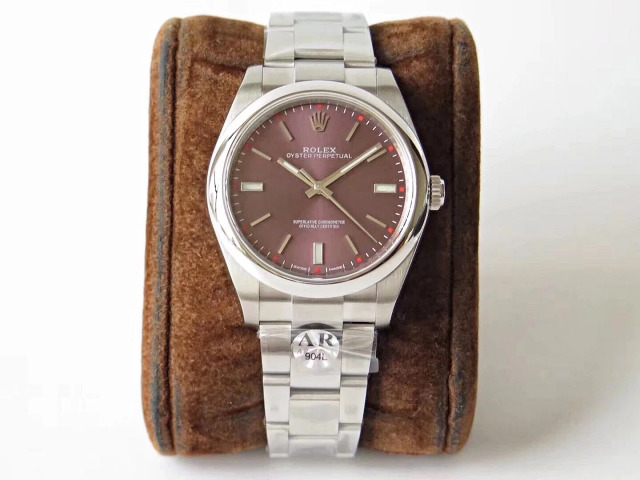 Rolex Oyster Perpetual 114300 Purple
