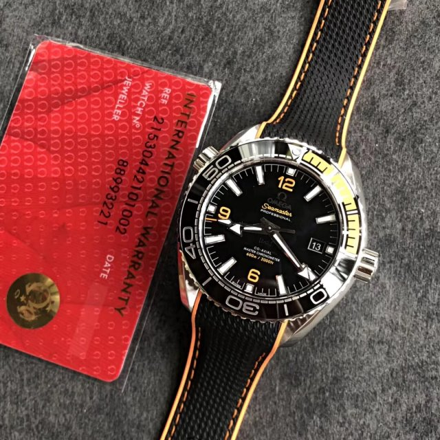 Replica Omega Planet Ocean 600m Orange Watch