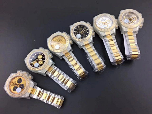 JF V2 Daytona Two Tone Watches