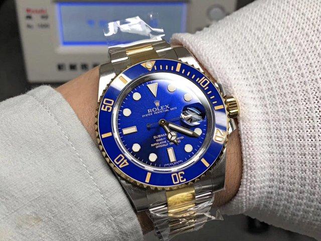 Replica Rolex 116613 Wrist Shot