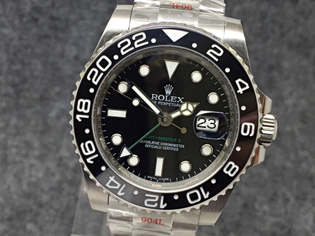 Replica Rolex GMT-Master II 116710LN Black