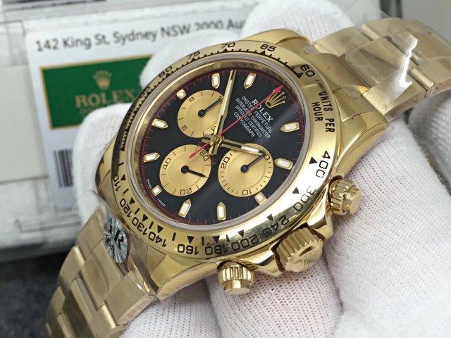 Replica Rolex Daytona Yellow Gold