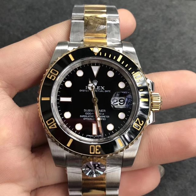 ARF V2 Rolex Submariner 116613LN Two Tone Replica
