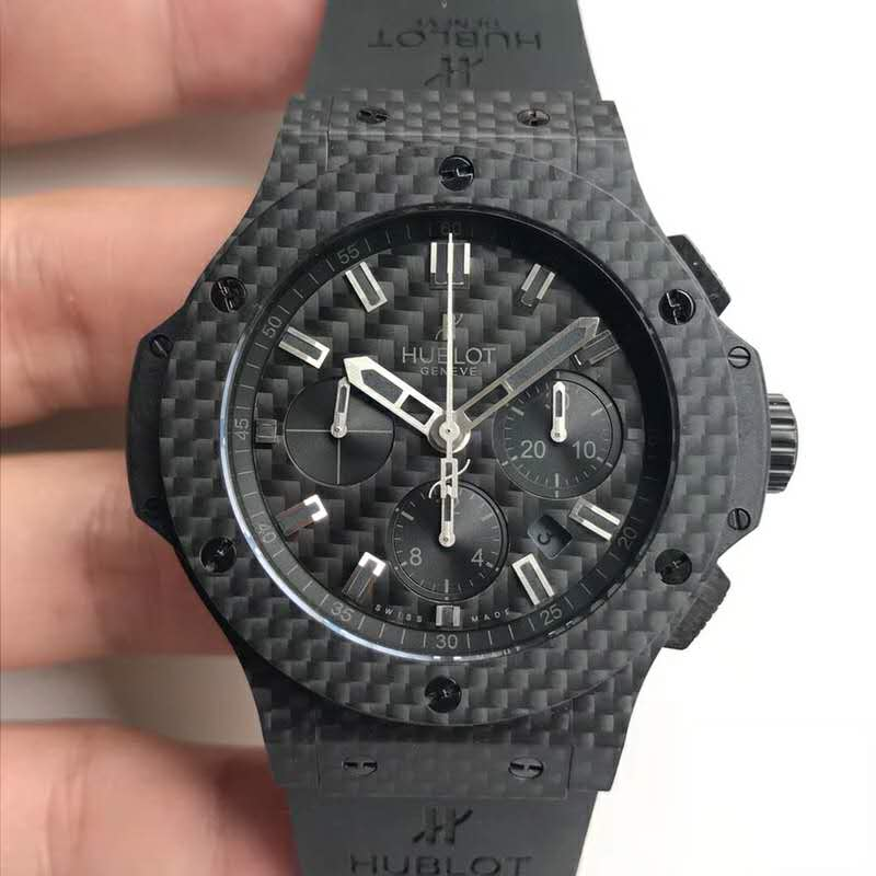 Replica Hublot Carbon Fiber Black