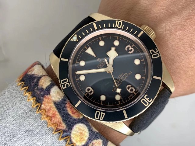 Tudor Black Bay Wrist Shot 2