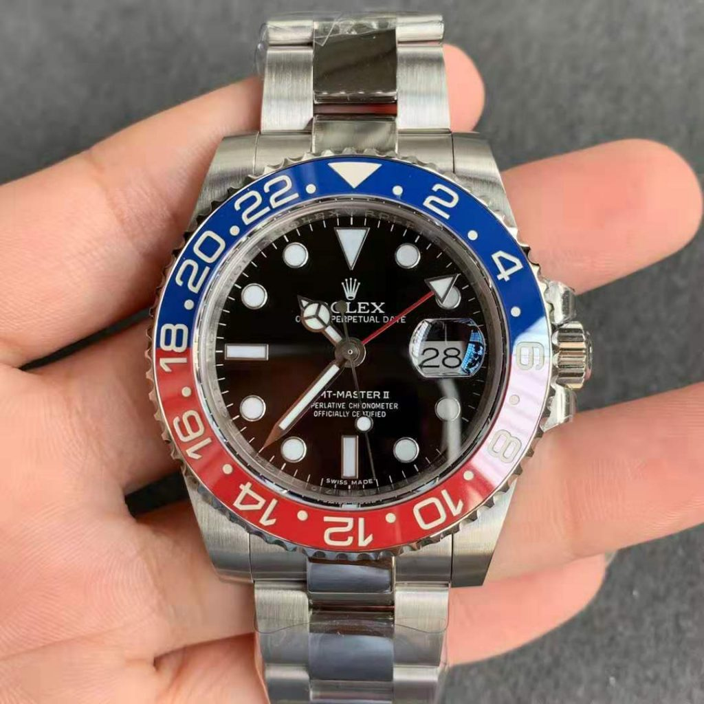 GMF GMT-Master II Blue Red