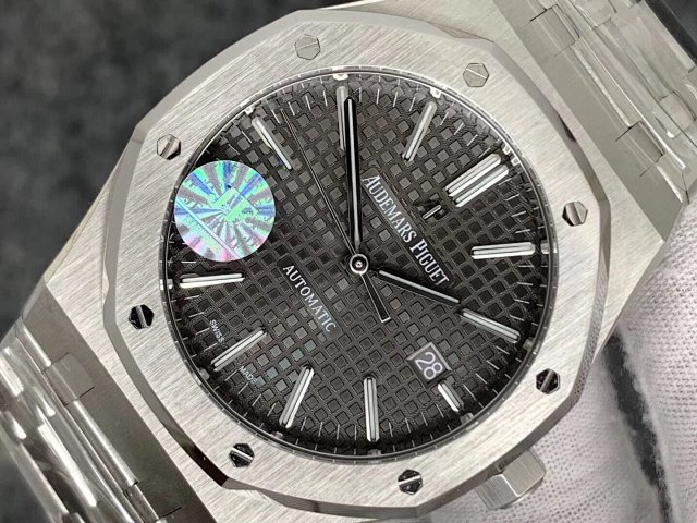 Replica Audemars Piguet 15400 Grey Dial