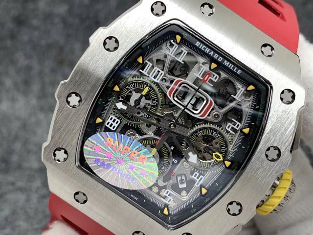 Richard Mille Crystal Skeleton Dial