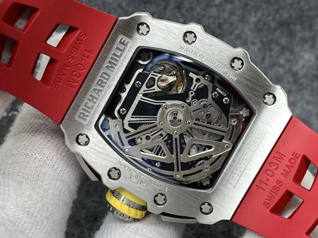 Richard Mille See-Through Crystal Back