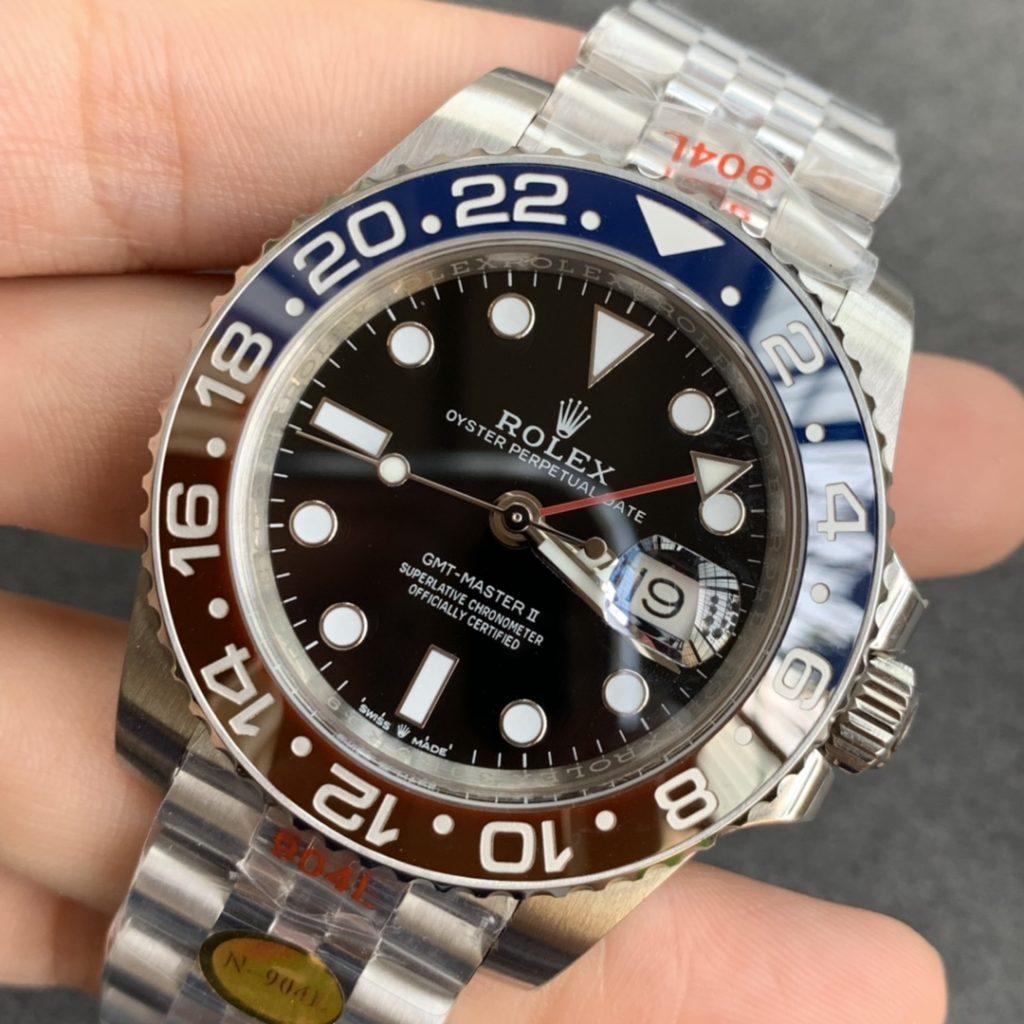 Noob Replica Rolex GMT-Master II 3285