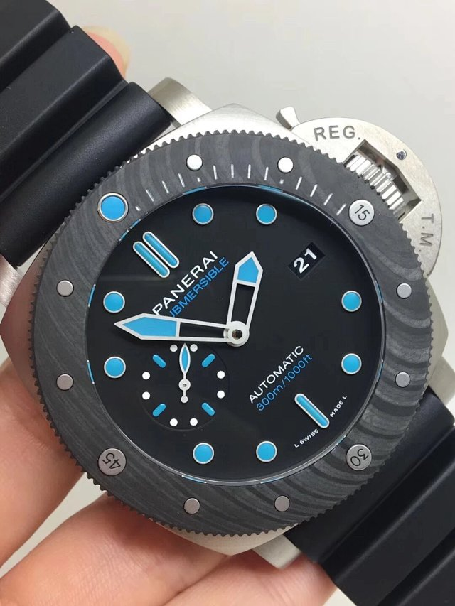 Replica Panerai CarboTech Submersible Titanium