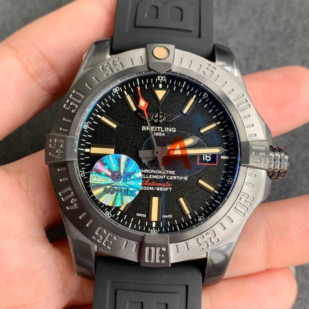 GF Replica Breitling Avenger BlackBird Titanium