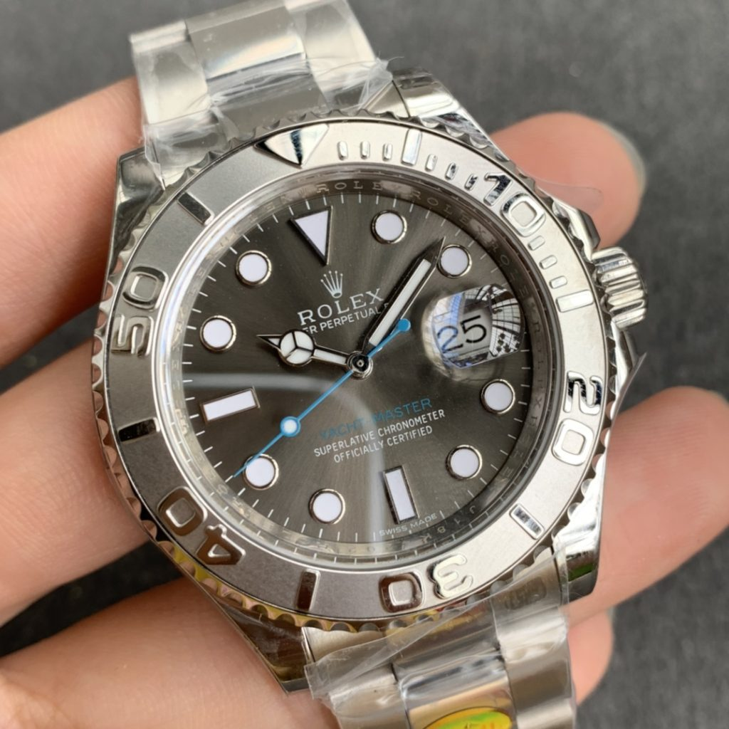 Replica Rolex YachtMaster 116622 Grey