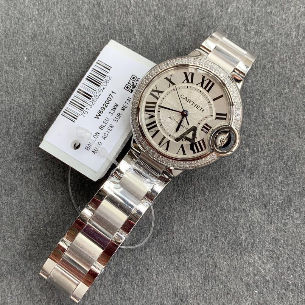 Cartier Lady Diamonds White