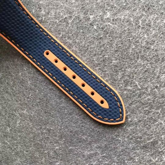 Omega Blue Rubber Strap