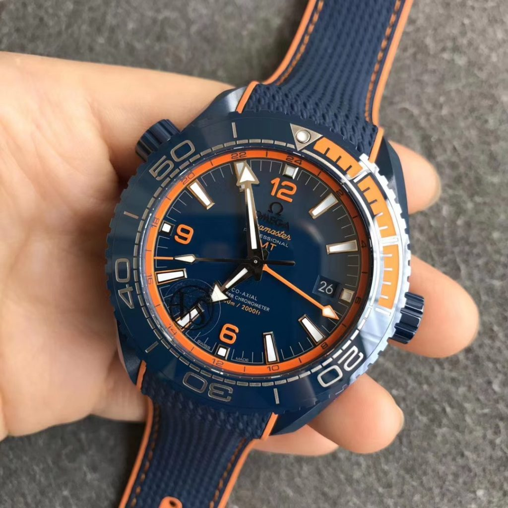 Replica Omega Planet Ocean Big Blue