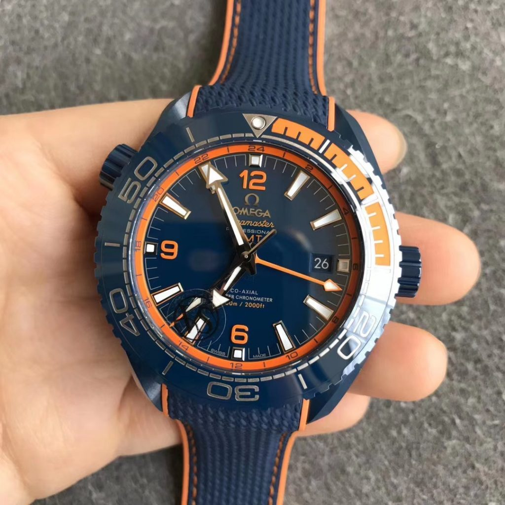 VSF Replica Omega Planet Ocean Blue