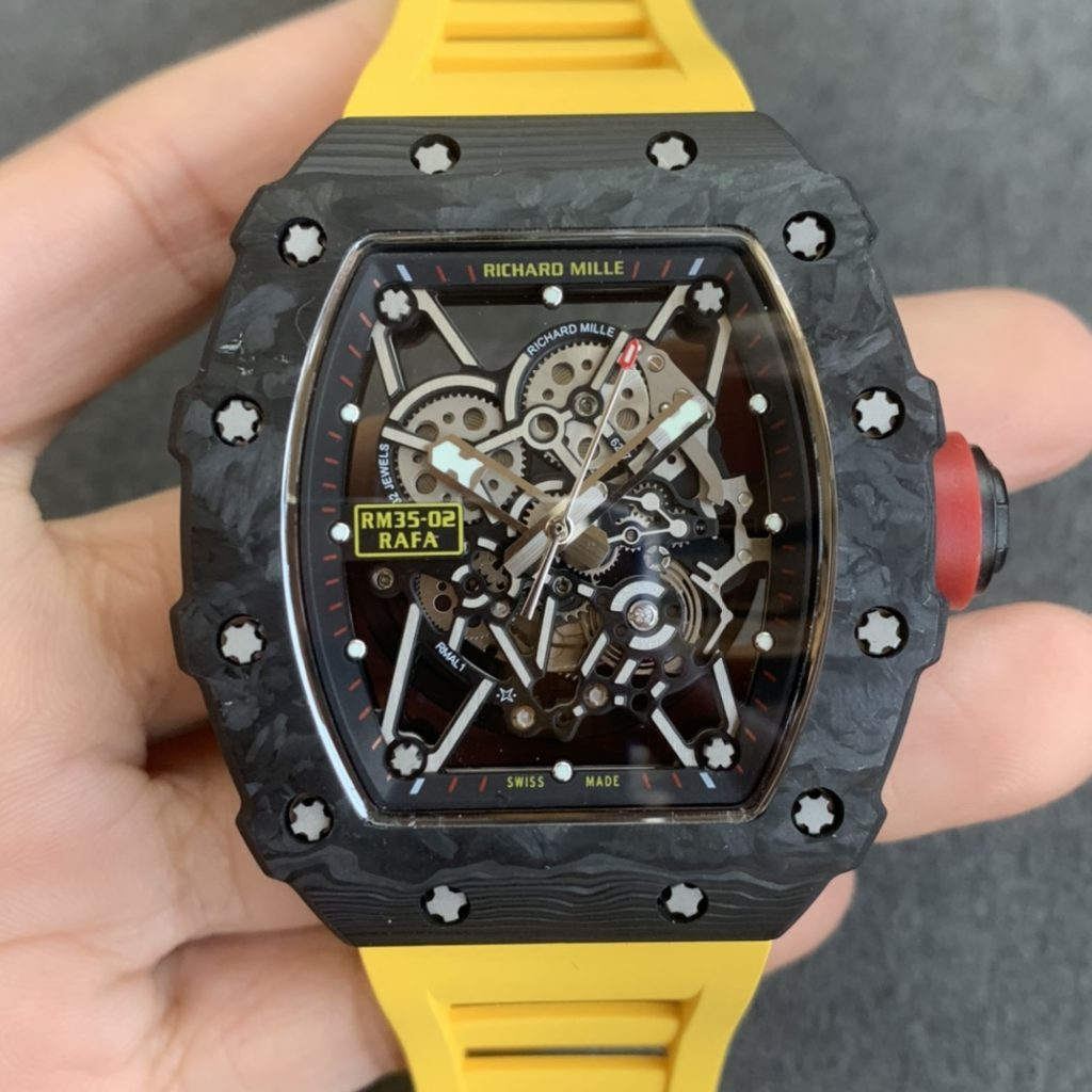 Replica Richard Mille RM35-02 Yellow