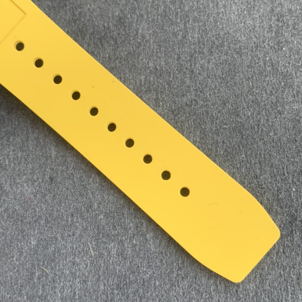 Richard Mille Yellow Rubber Strap