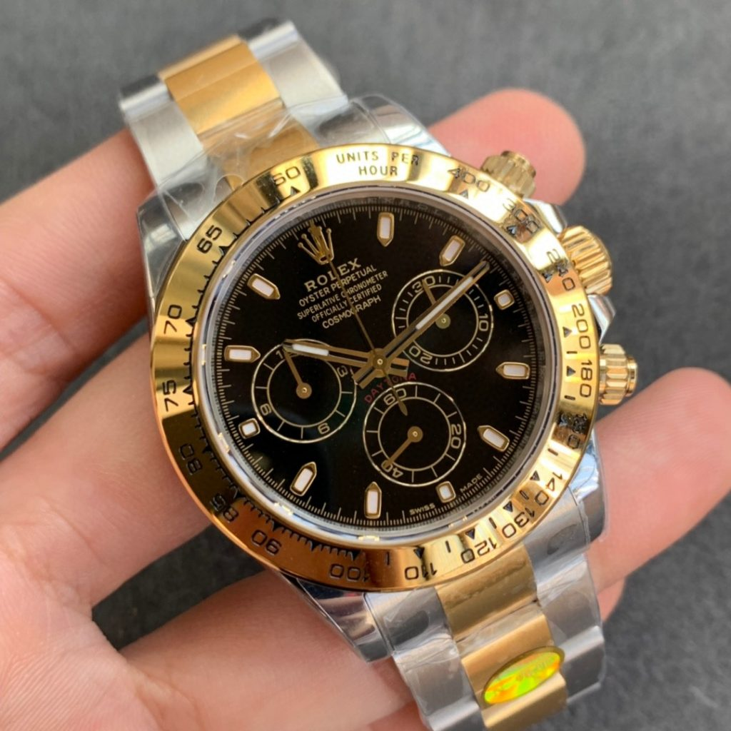 Replica Rolex Daytona Two Tone Case