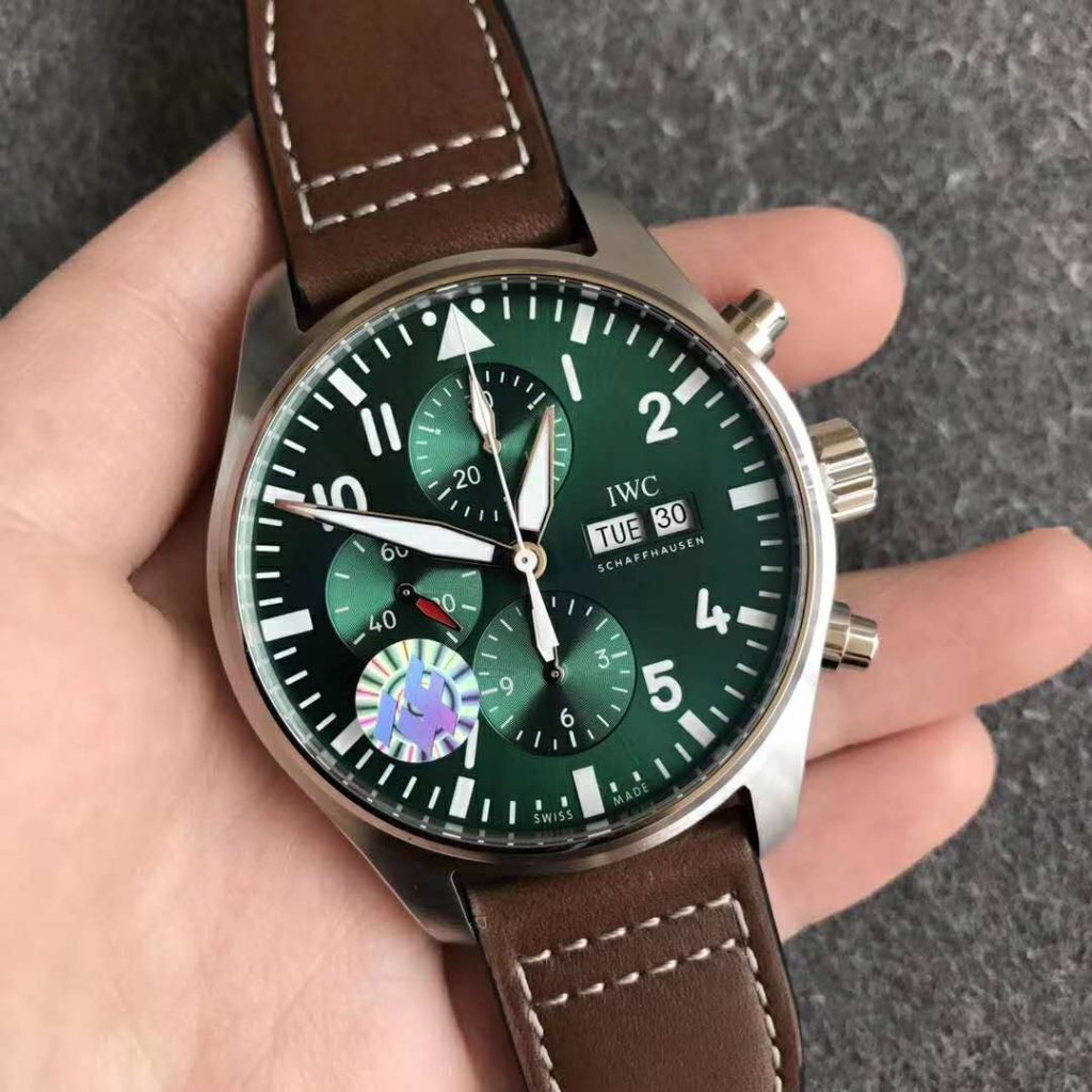 Replica IWC Green Pilot